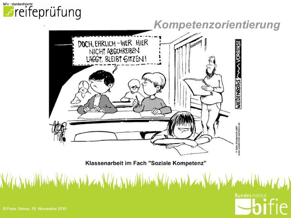 Kompetenzorientierung