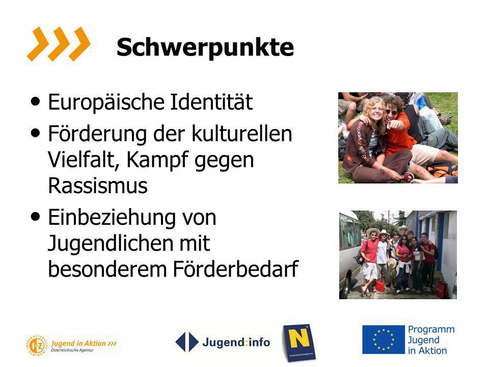 Schwerpunkte Europäische Identität