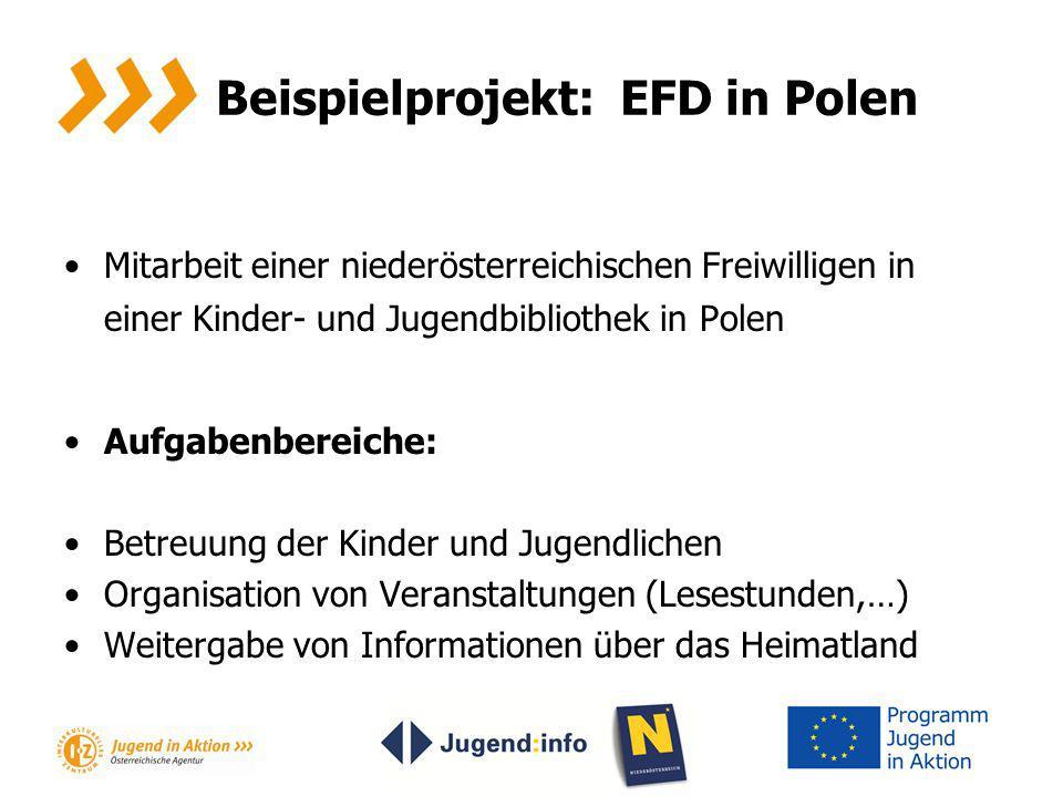 Beispielprojekt: EFD in Polen