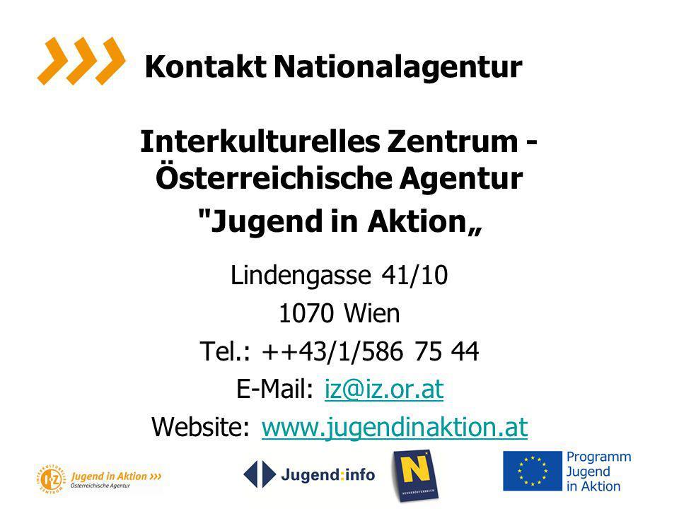 Kontakt Nationalagentur