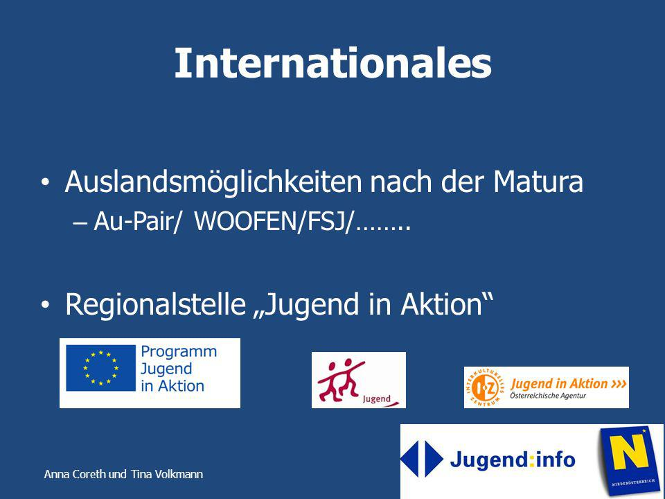 Internationales Auslandsmöglichkeiten nach der Matura