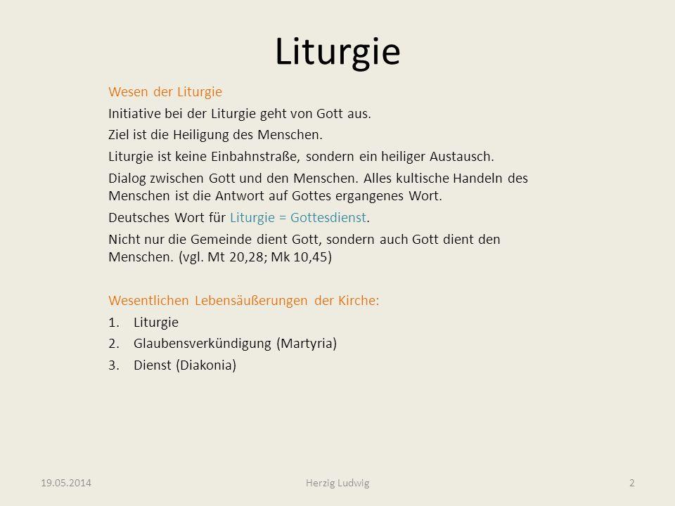 Liturgie Wesen der Liturgie