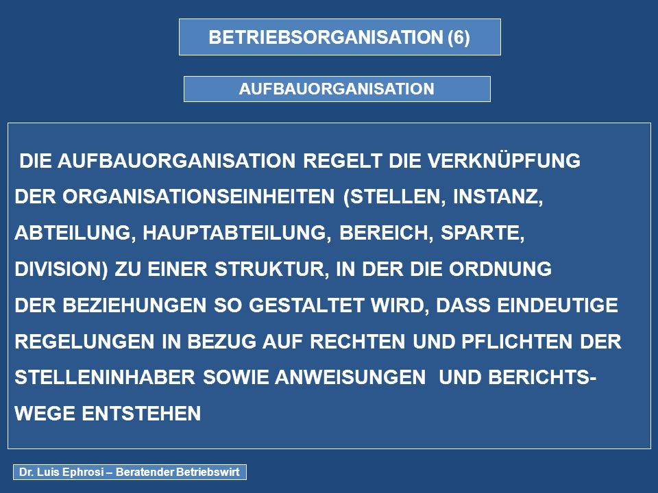 BETRIEBSORGANISATION (6)