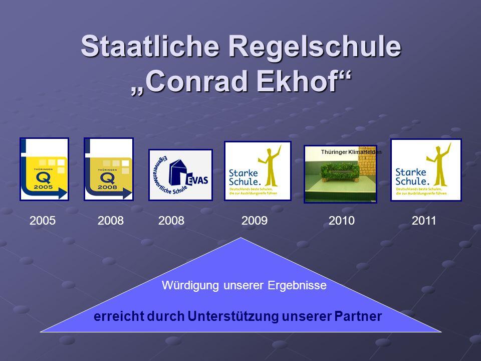 """Staatliche Regelschule """"Conrad Ekhof"""