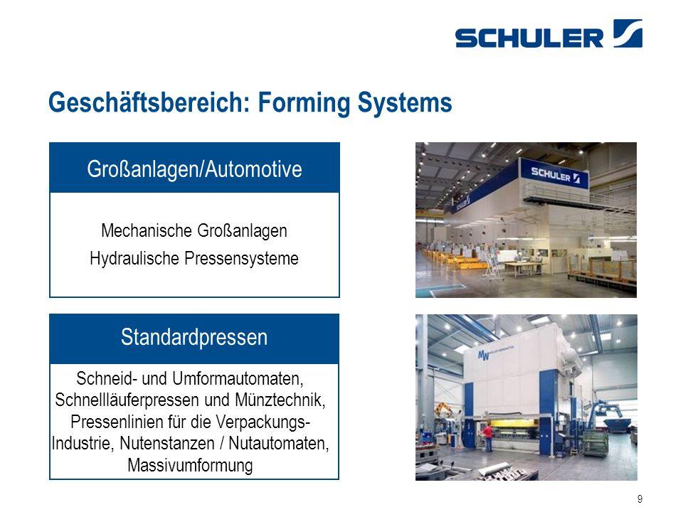Geschäftsbereich: Forming Systems