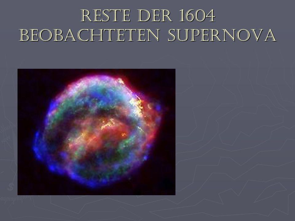 Reste der 1604 beobachteten Supernova