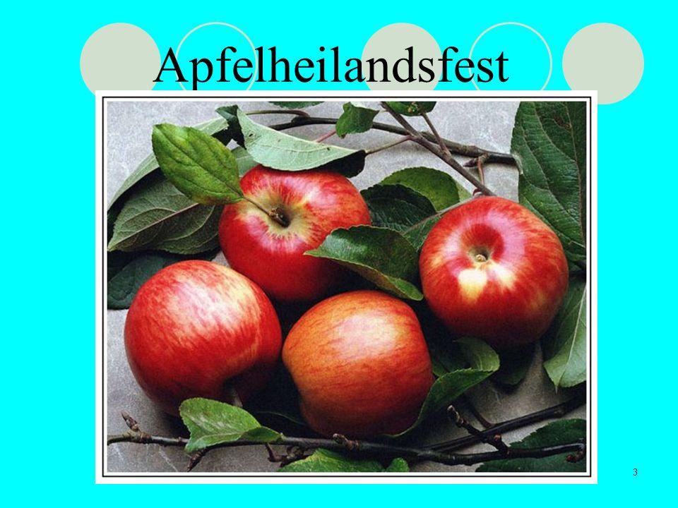 Apfelheilandsfest