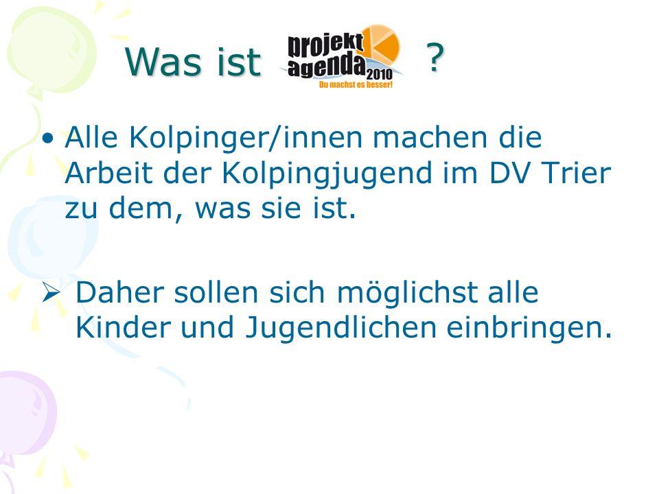 Was ist Alle Kolpinger/innen machen die Arbeit der Kolpingjugend im DV Trier zu dem, was sie ist.
