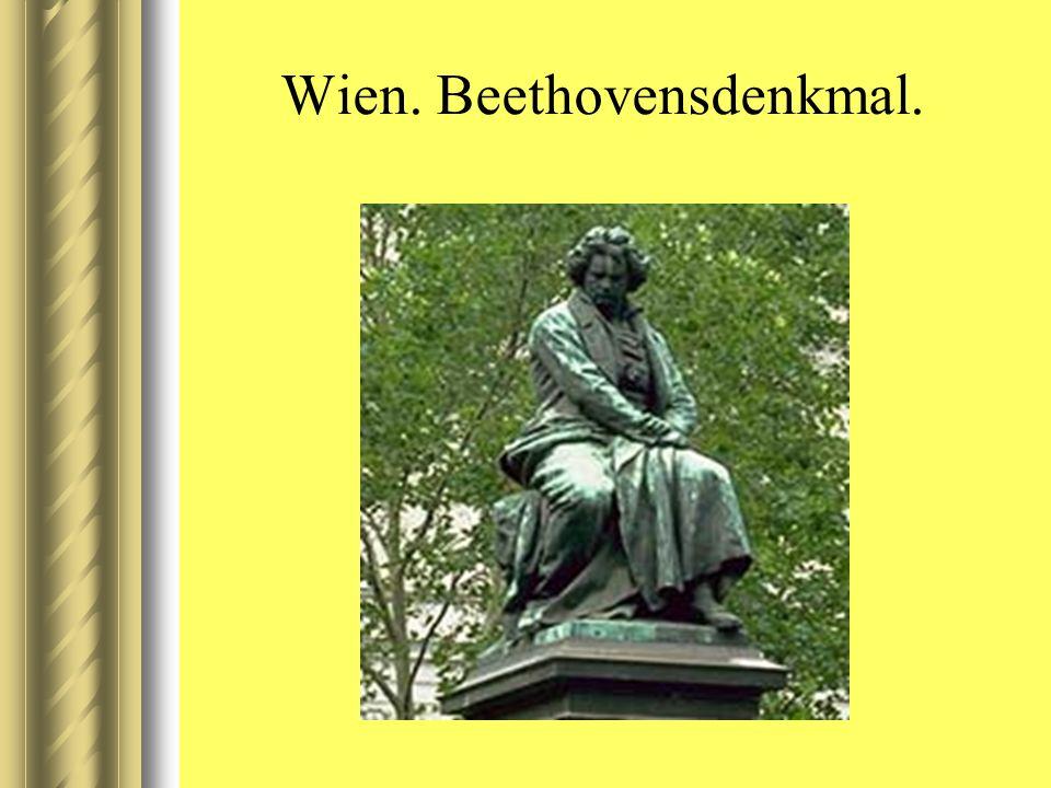 Wien. Beethovensdenkmal.