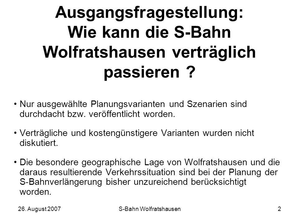 S-Bahn Wolfratshausen