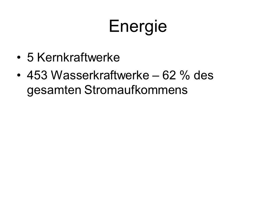 Energie 5 Kernkraftwerke