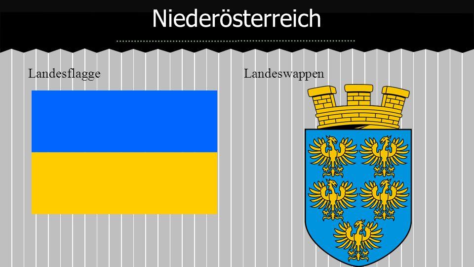 Niederösterreich Landesflagge Landeswappen