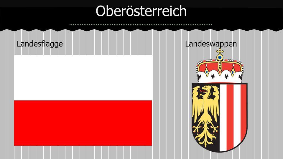 Oberösterreich Landesflagge Landeswappen
