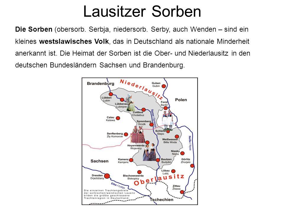 Lausitzer Sorben