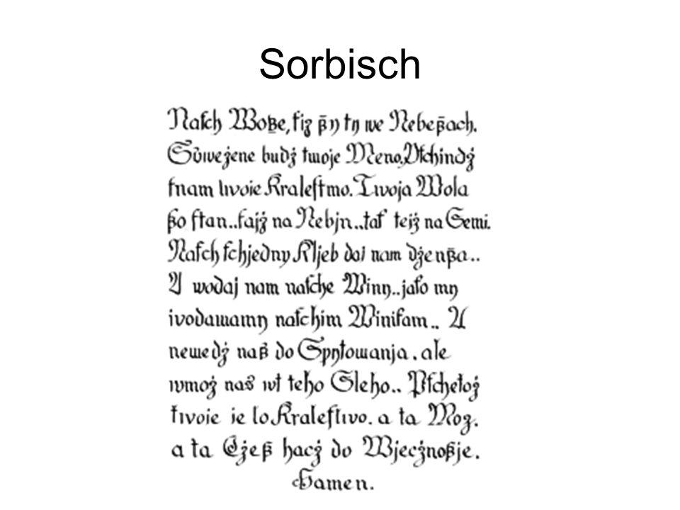 Sorbisch