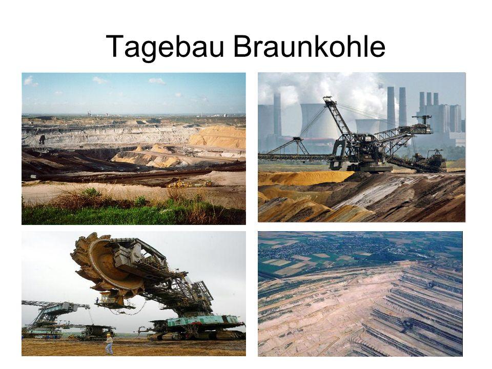 Tagebau Braunkohle