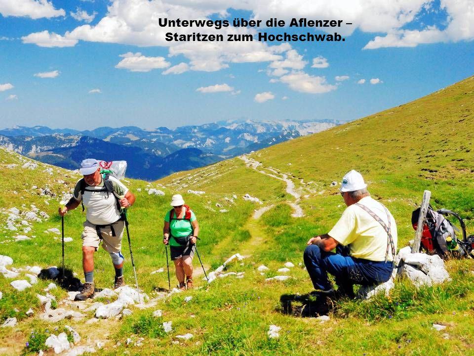 Unterwegs über die Aflenzer – Staritzen zum Hochschwab.