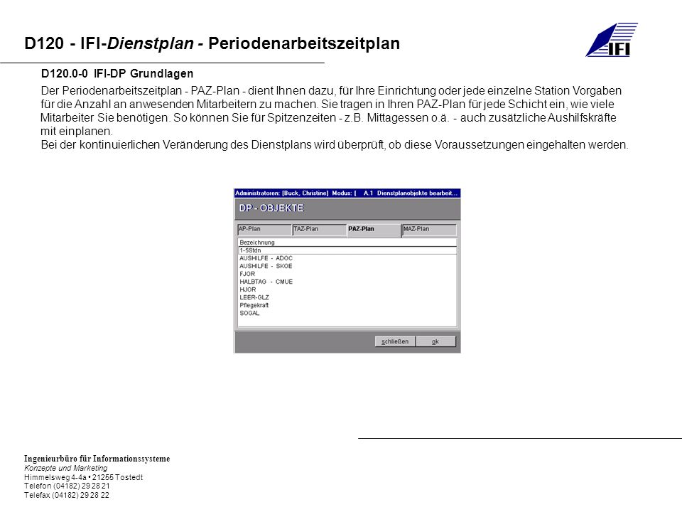 D120.0-0 IFI-DP Grundlagen