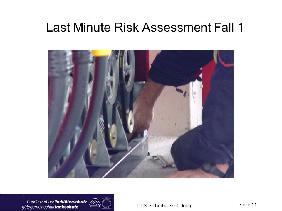 Last Minute Risk Assessment Fall 1