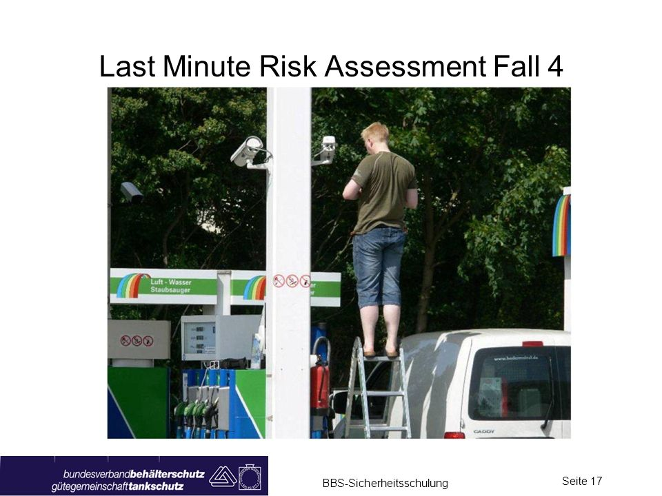Last Minute Risk Assessment Fall 4