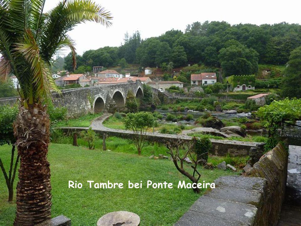 Rio Tambre bei Ponte Maceira