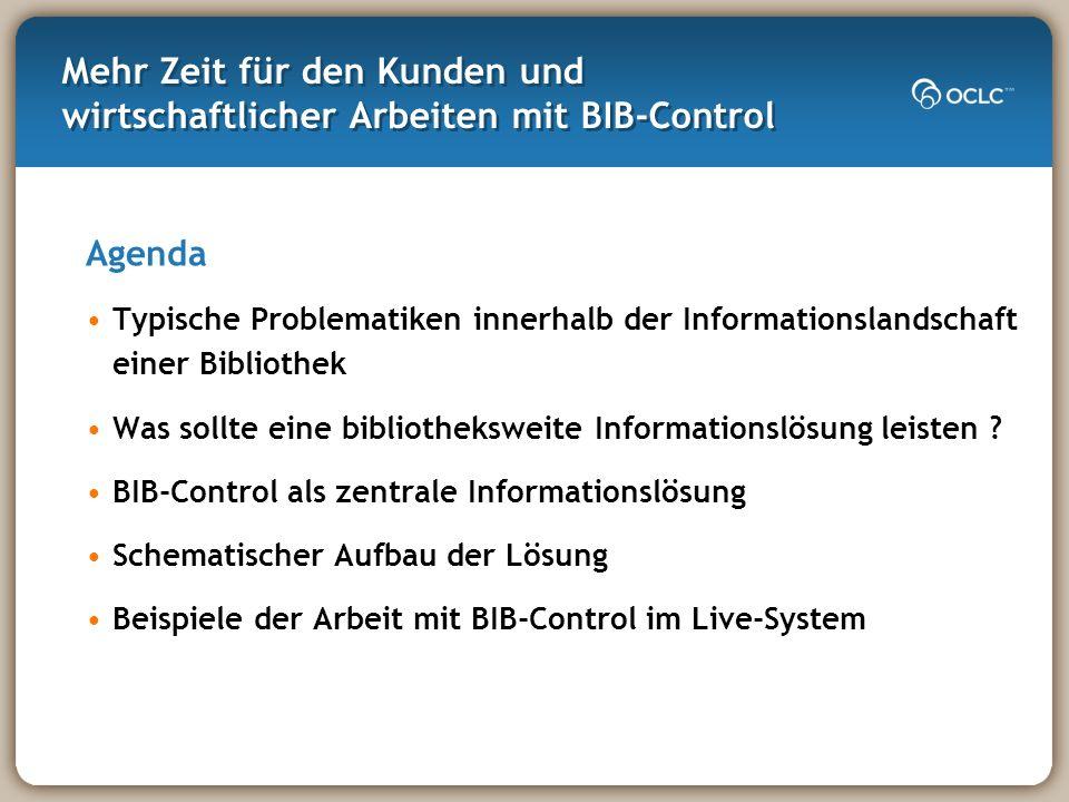 Mehr Zeit für den Kunden und wirtschaftlicher Arbeiten mit BIB-Control