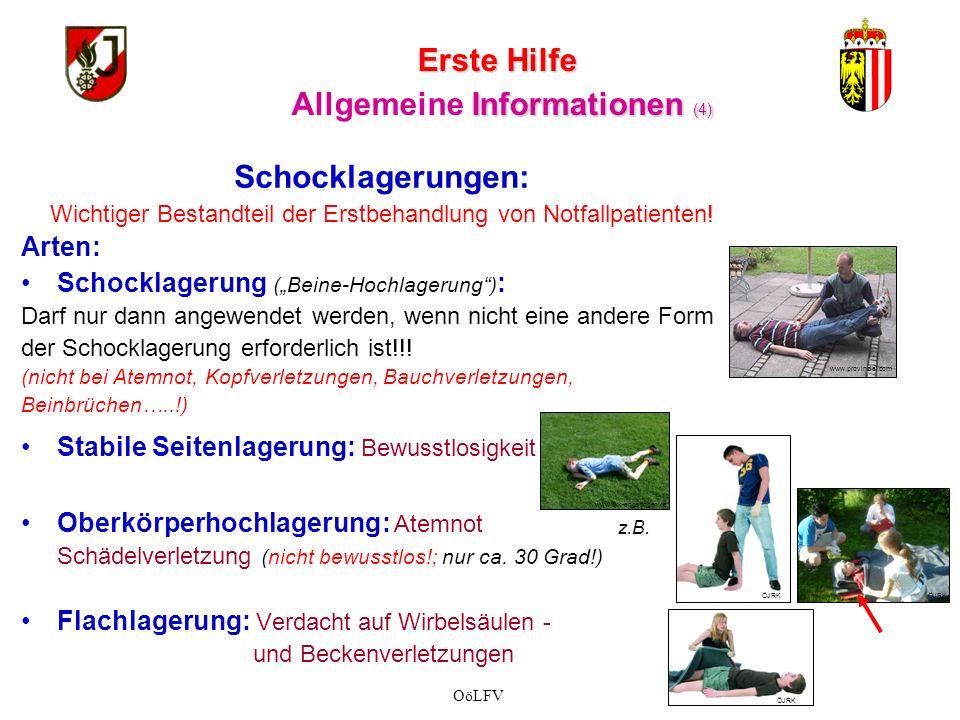 Erste Hilfe Allgemeine Informationen (4)