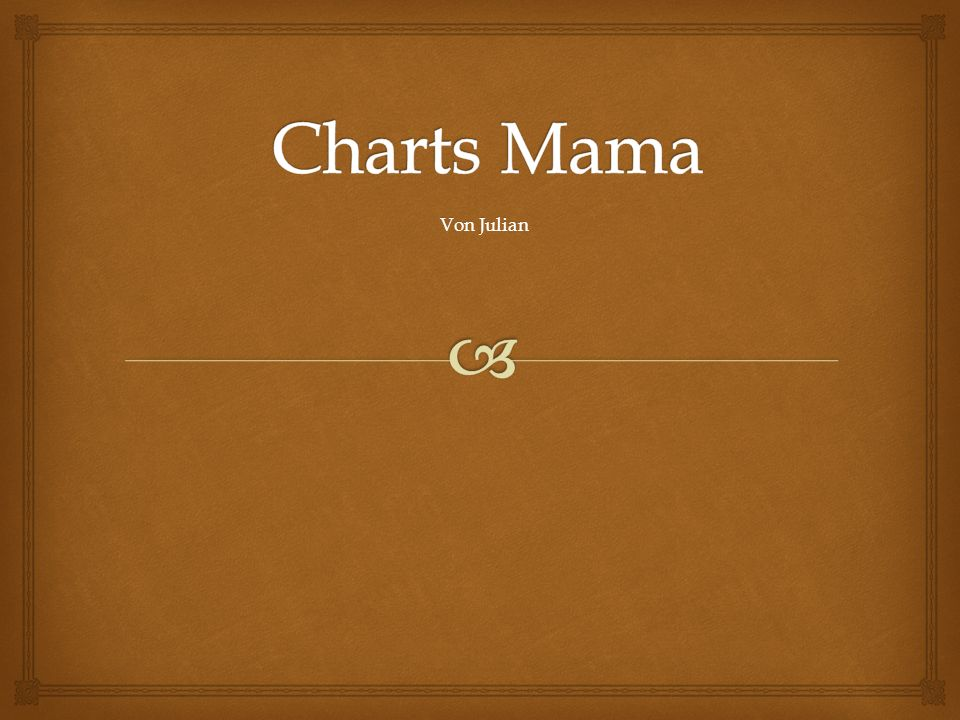 Charts Mama Von Julian