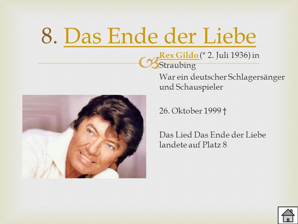 8. Das Ende der Liebe