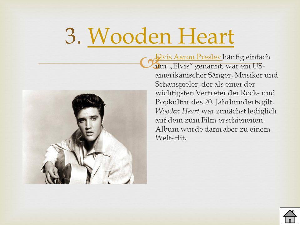 3. Wooden Heart