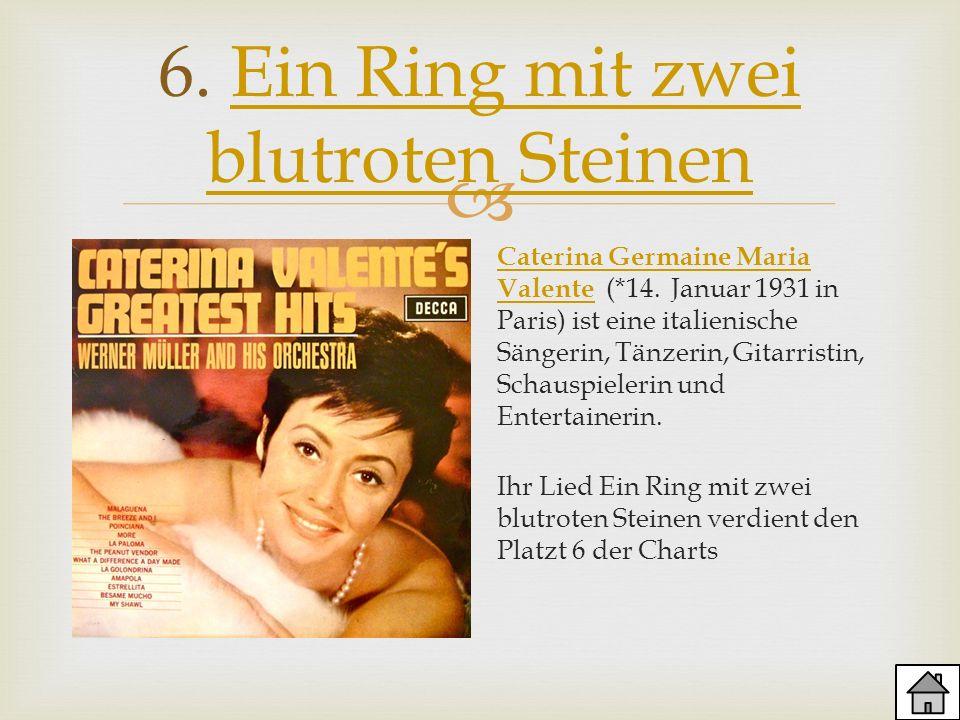 6. Ein Ring mit zwei blutroten Steinen