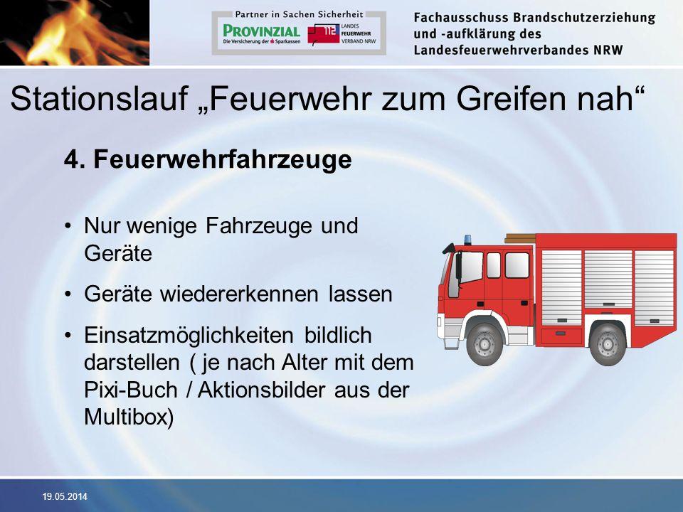 """Stationslauf """"Feuerwehr zum Greifen nah"""