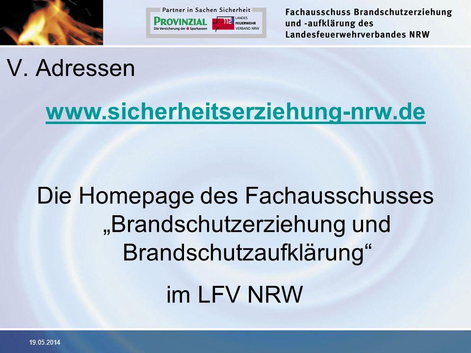 V. Adressen www.sicherheitserziehung-nrw.de