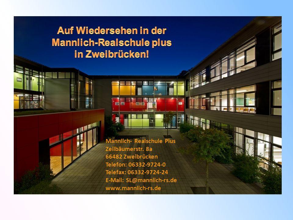 Auf Wiedersehen in der Mannlich-Realschule plus in Zweibrücken!
