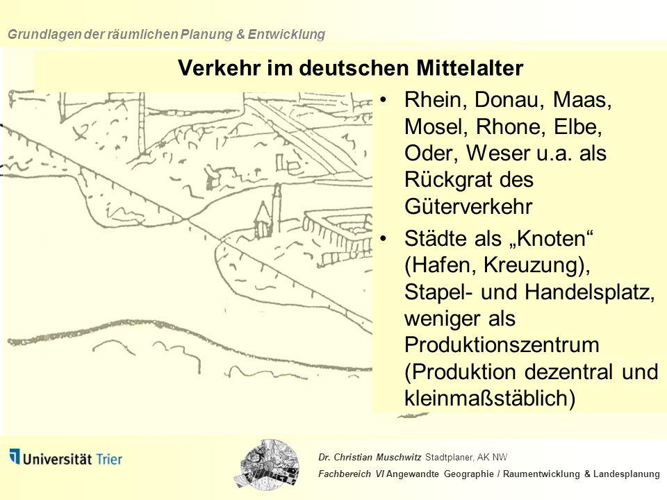 Verkehr im deutschen Mittelalter