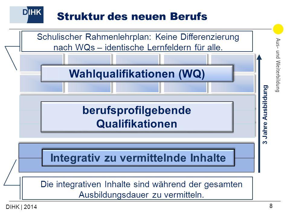 Struktur des neuen Berufs