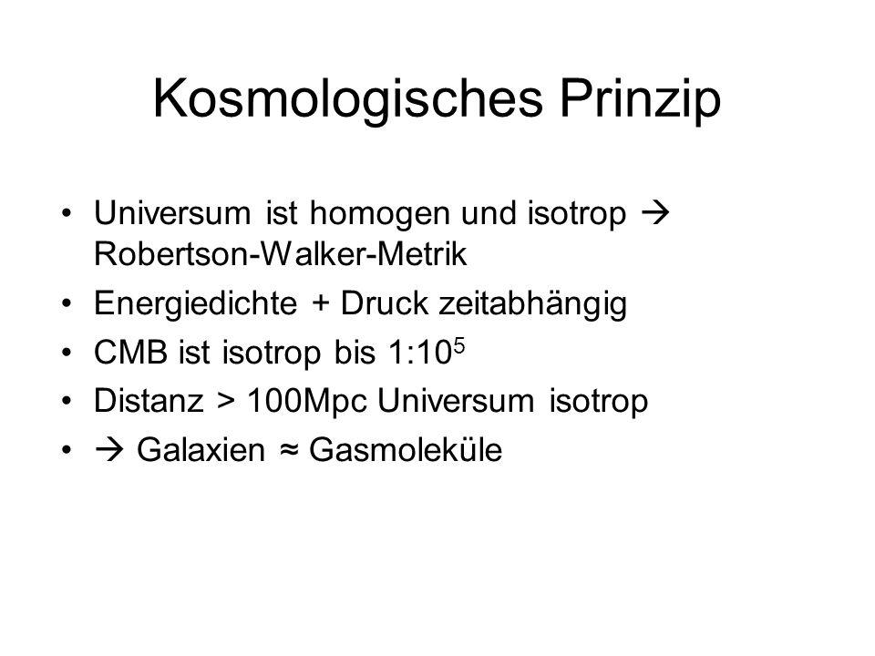 Kosmologisches Prinzip