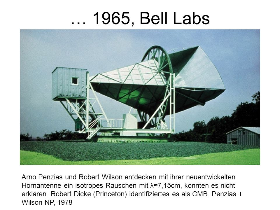 … 1965, Bell Labs