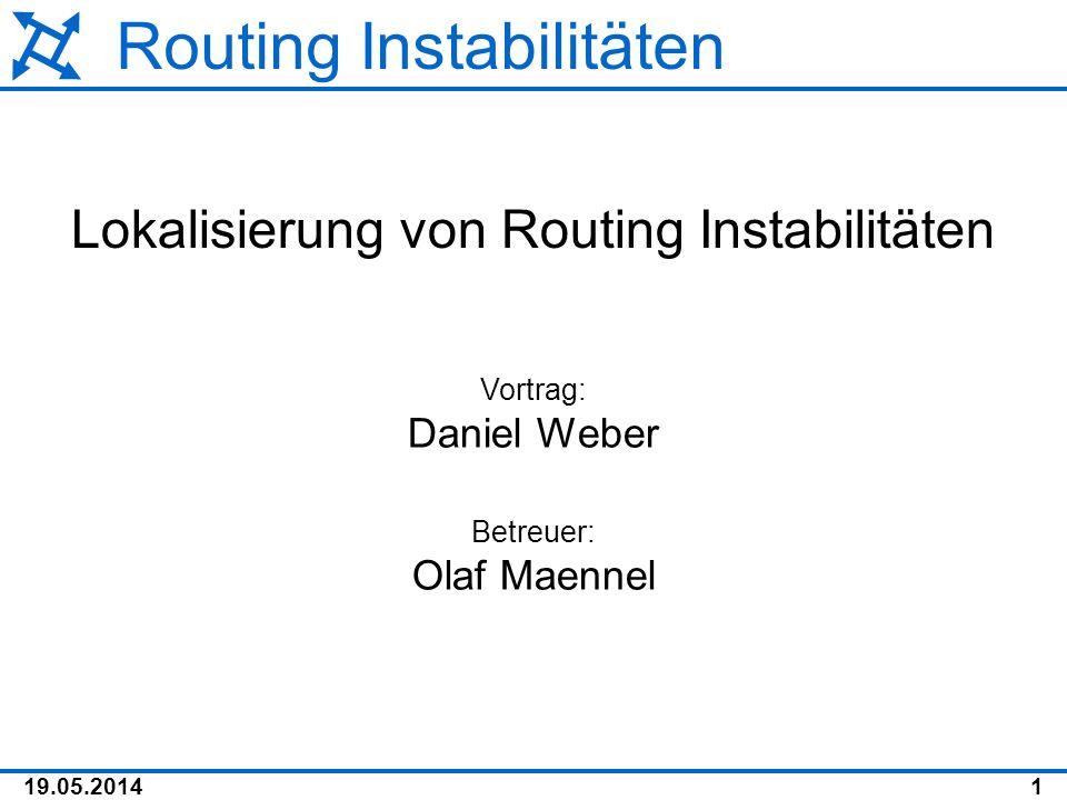 Routing Instabilitäten
