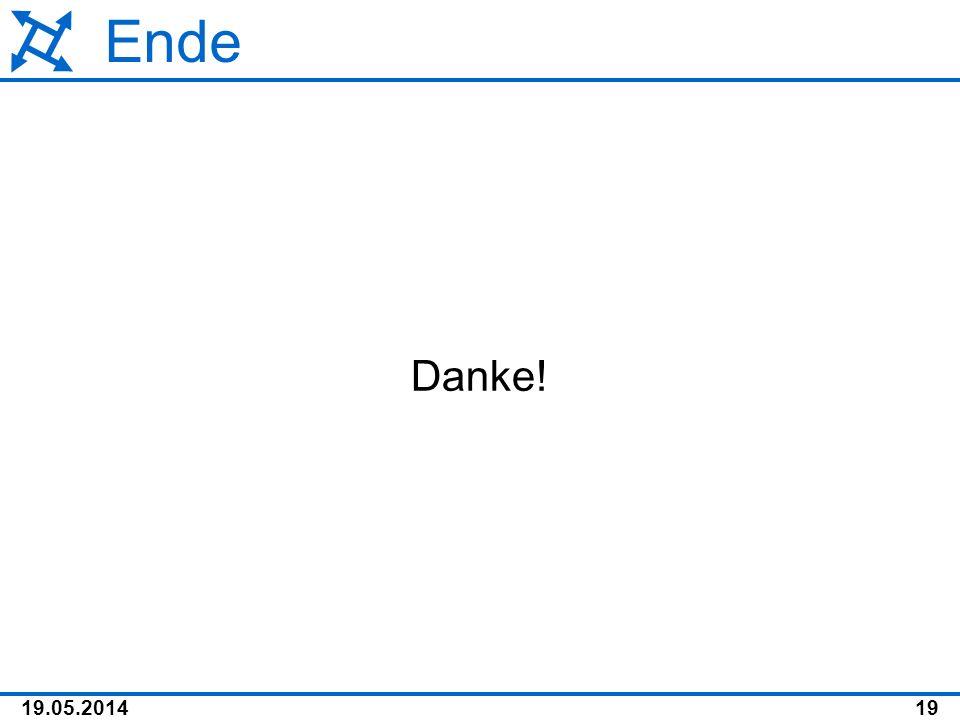 Ende Danke!