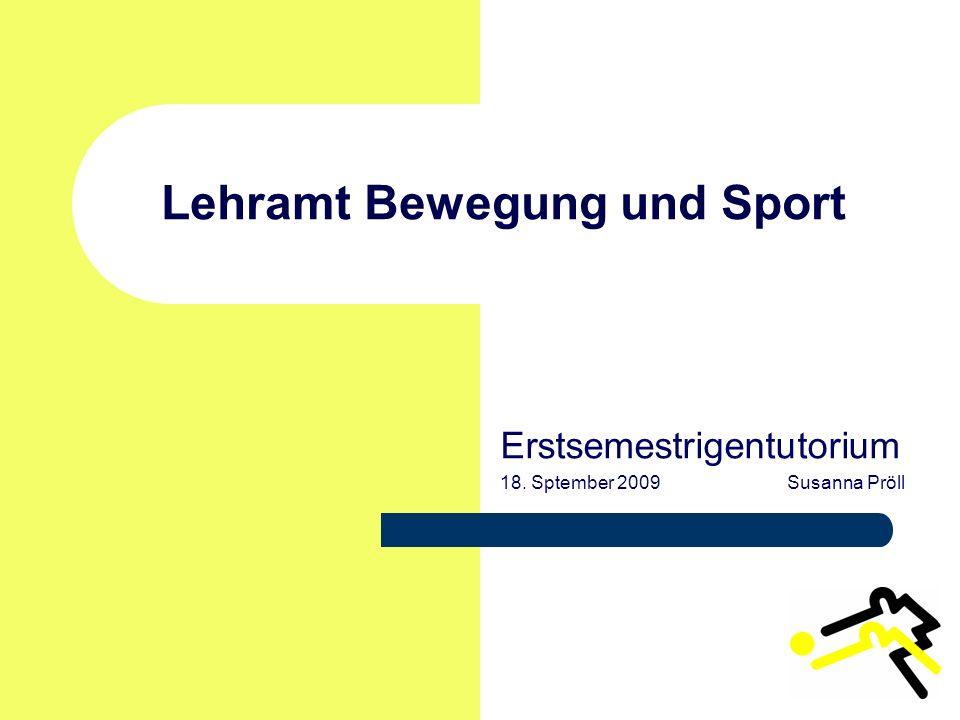 Lehramt Bewegung und Sport