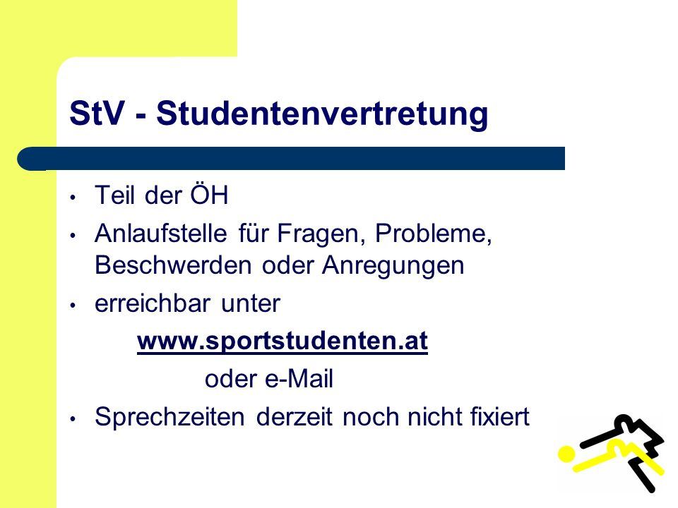 StV - Studentenvertretung