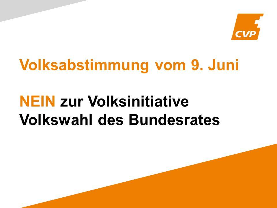 Volksabstimmung vom 9. Juni