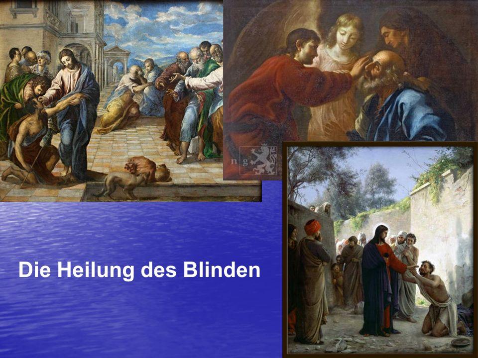 Die Heilung des Blinden