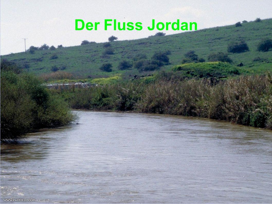 Der Fluss Jordan