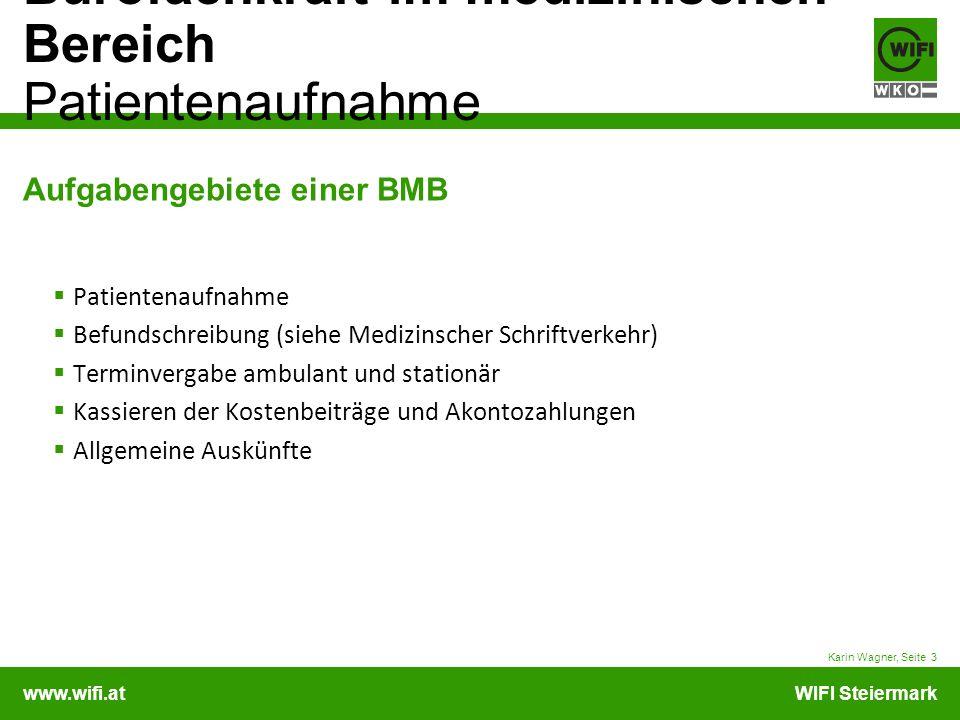 Aufgabengebiete einer BMB
