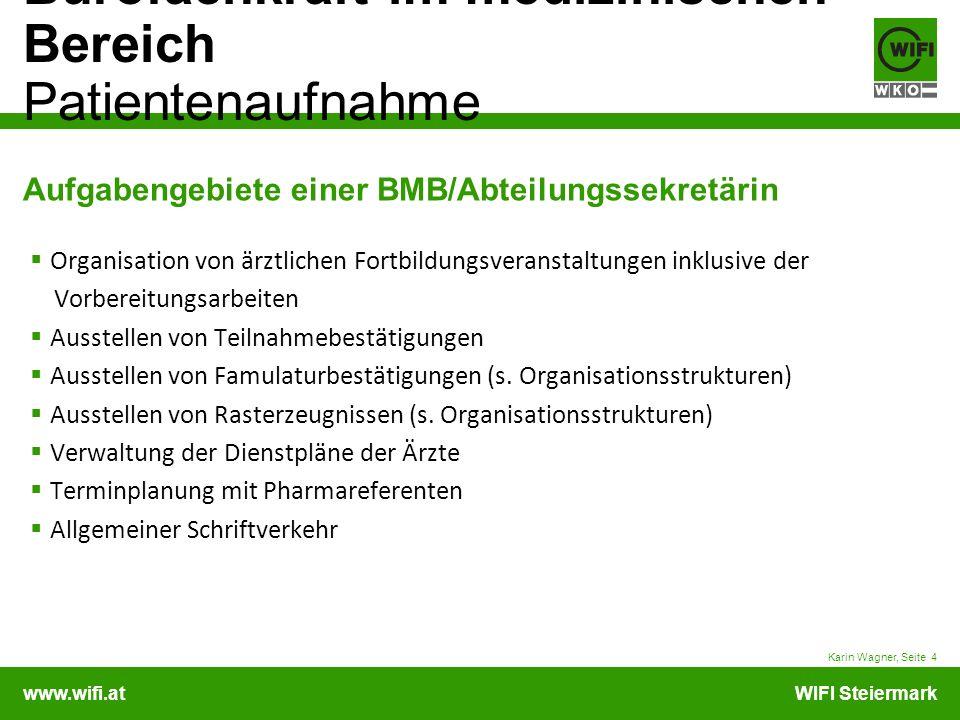 Aufgabengebiete einer BMB/Abteilungssekretärin