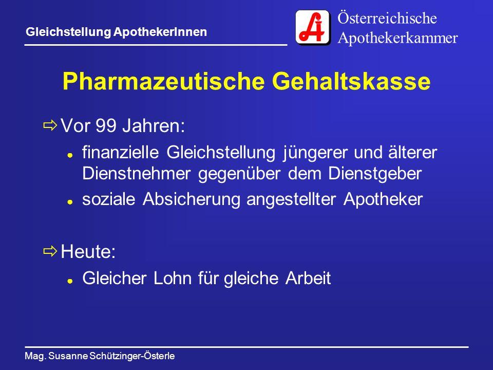 Pharmazeutische Gehaltskasse