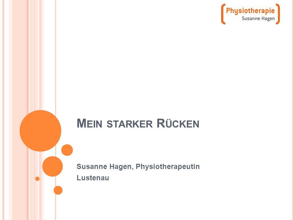 Susanne Hagen, Physiotherapeutin Lustenau