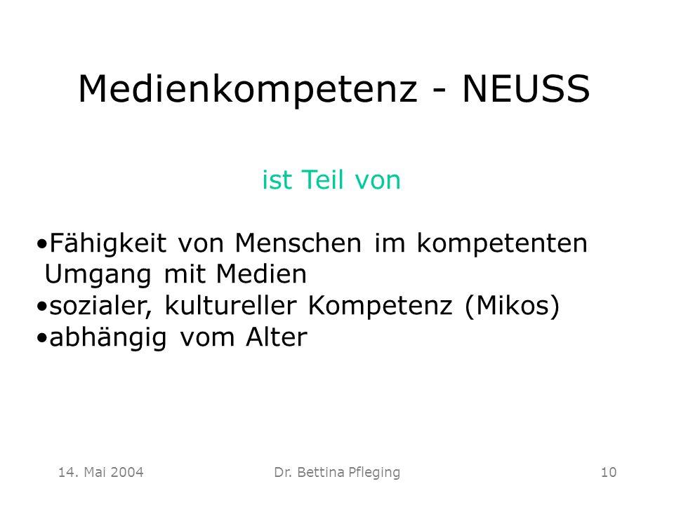 Medienkompetenz - NEUSS